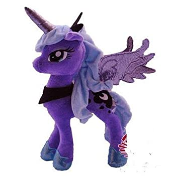 My Little Pony Night Mare Moon Plush Doll,High Quality by Hong Te