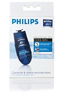Philips - Cartucho HQ 170, Cool Skin, 5 Cartuchos Menthol y Vitamin