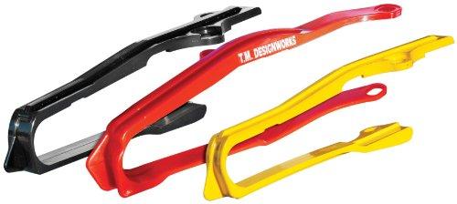 T.M. Designworks Dirt Cross Super Front Chain Slider - Red Dcs-H15-Rd