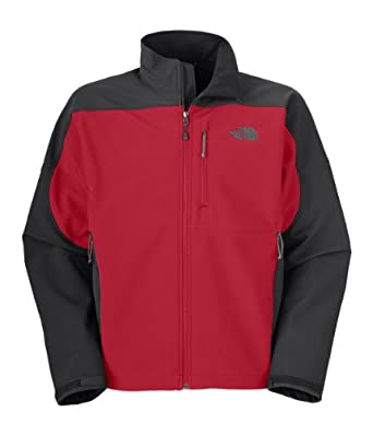 Men's The North Face Apex Bionic Jacket TNF Red/Asphalt Grey Size X-Large