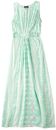 Angie Dress GREEN Medium Juniors