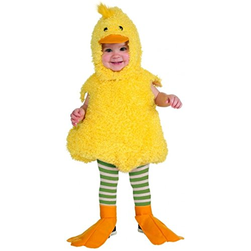 [GSG Quackie Duck Baby Costume Easter Halloween Fancy Dress] (Scary Bee Costume)
