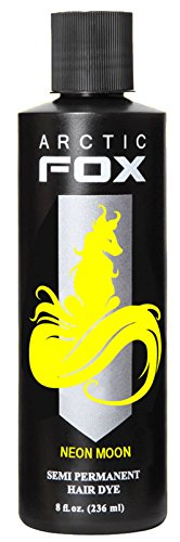 Arctic Fox Semi Permanent Hair Dye - 8 Ounce Neon Moon #12 (Neon Permanent Hair Dye compare prices)