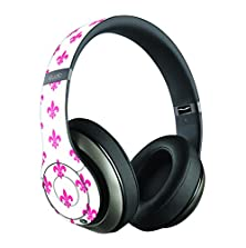 buy Neon Pink French Design Skin/Decal Compatible With Beats Studio Wireless