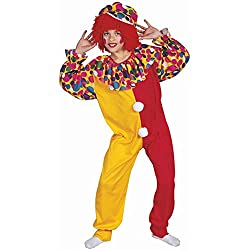 Childs Clown Halloween Costume (Size:Small 4-6)