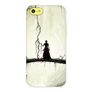 Ajay Enterprises True Forest Warrior Back Case Cover for iPhone 5C