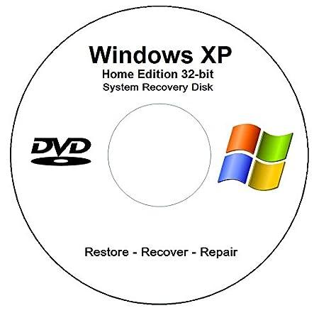Windows XP Home Edition 32-bit SP3 Recovery - Restore - Repair Media