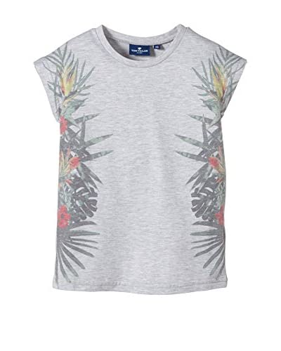 Tom Tailor Kids T-Shirt Manica Corta [Grigio Chiaro]