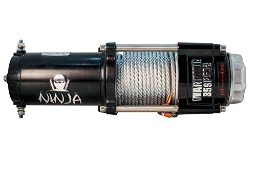 DK2-C2500N-Warrior-Ninja-ATVUTV-Electric-Winch-with-Steel-Cable-12V-2500-Lb