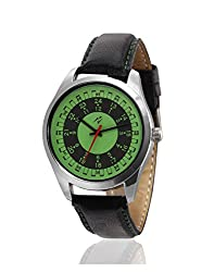 Yepme Brozet Mens Watch - Green/Black - YPMWATCH1315