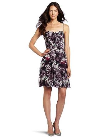 McGinn Women's Iris Sweetheart Dress, Deep Plum, 2