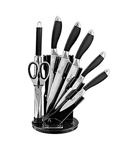 pradel-excellence-i7408n-bloc-de-5-couteaux-1-fusil-ciseaux-noir