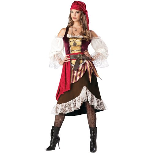 Deckhand Darlin Costume - X-Large - Dress Size 16-18