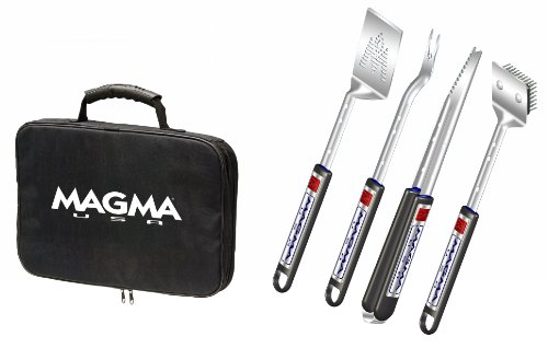 Magma 5 Piece Telescoping Grill Tool Set