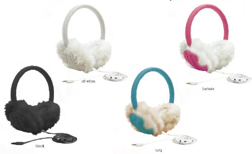 Ladies Solid Color Headphone Earmuffs (48 Pieces)
