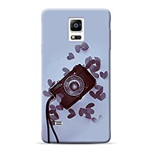 Inkif Printed Designer Case For Samsung Galaxy Note 4 Multi-Coloured