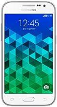 Samsung Galaxy Core Prime Value Edition Smartphone débloqué 4G (Ecran : 4,5 pouces - 8 Go - Simple MicroSIM - Android 5.1 Lollipop) Blanc
