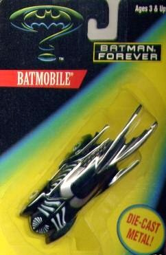 Batman Forever Die Cast Metal Batmobile