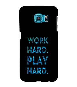 iFasho Carry On Quote Back Case Cover for Samsung Galaxy S6 Edge Plus