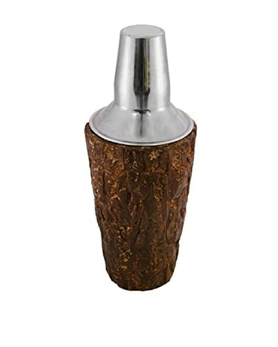 Frances Stoia Walnut Bark Cocktail Shaker