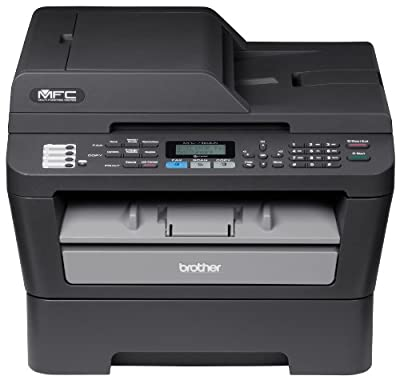 Brother Refurbished Wireless Monochrome Printer with Scanner Copier and Fax