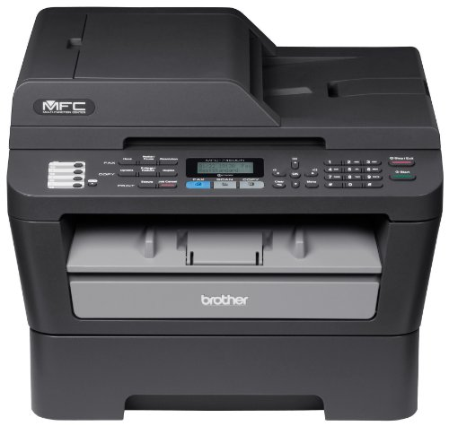 Brother MFC7460DN Ethernet Monochrome Printer with Scanner, Copier & Fax