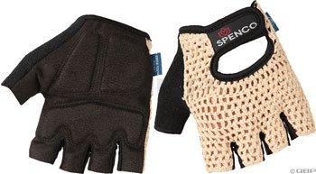 Spenco Classic Glove LG Beige Crochet Knit