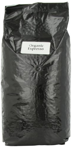 First Colony Organic Whole Bean Coffee, Espresso Roast, 5-Pound