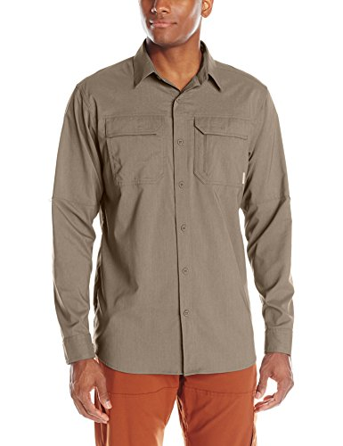 Columbia Men's Royce Peak II Long Sleeve Shirt, Wet Sand, X-Large (Royce Peak Shirt compare prices)