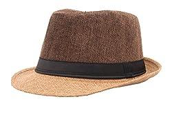 FabSeasons Mens Fedora Hat