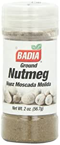 Badia Nutmeg Ground, 2-Ounce (Pack of 12)