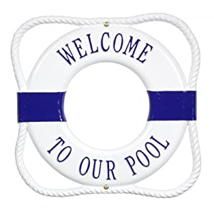 Amazon.com: Personalized Life Ring Buoy Plaque: Home Improvement