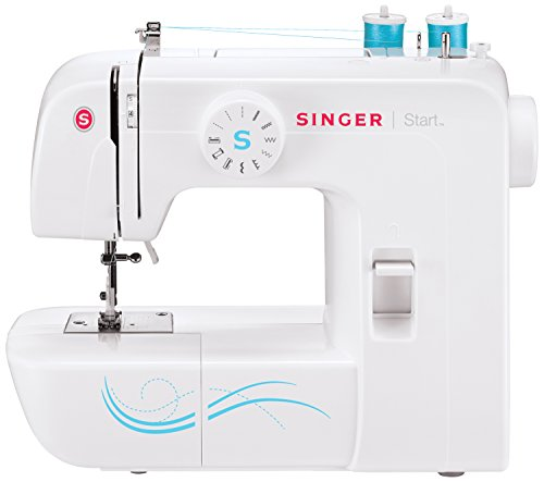 싱거 1304 미싱 Singer 1304 Start Free Arm Sewing Machine with 6 Built-In Stitches