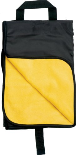 Simplicity All-Purpose Outdoor Blanket W/Strap - Gold front-833062