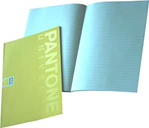 Pantone Ruled Note Book, A5, 24 Sheets, Maize, Pack of 5 (50198-88980-1)