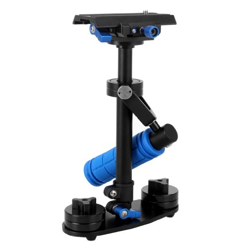 WmicroUK 0.2-2.0Kg Handheld Stabilizer for Steadicam Mini DV/HDV Camcorders Camera Video DV DSLR Compatible With... Black Friday & Cyber Monday 2014