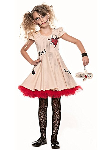 Big Girls' Voodoo Doll Costume