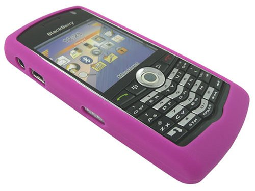 Genuine BlackBerry Pearl 8100 PINK Silicone Case/Skin