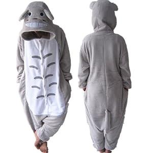 COS365 My Neighbor Totoro Kigurumi Pajamas Adult Anime Cosplay Halloween ...
