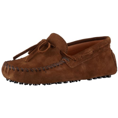 Minnetonka Men's Driving Moc Moccasin,Dusty Brown Suede,12 M US