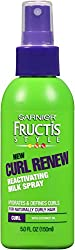 Garnier Hair Care Fructis Curl Renew Reactivating Milk Spray, 4.2 Ounce