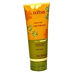 Alba Body Wash Coconut Milk Cream 7 Oz