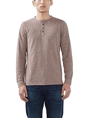 ESPRIT Camisa Hombre (Marrón)