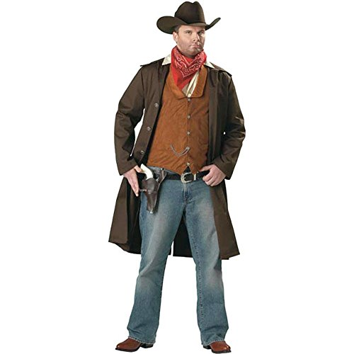 Adult Men's Plus Size Gunslinger Costume 3XL