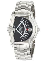 Jean D'eve Men's 777051GA.AA Sectora II Automatic Gray Dial Stainless-Steel Btacelet Watch