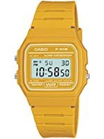 Casio Homme Casual Digital Watch, Jaune