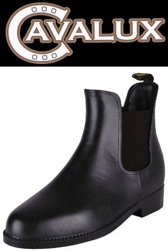 Stivaletti da equitazione per bambini in gomma CAVALUX/uomo/donna, Model: Wembley, Colore Nero, Dimensioni: 32