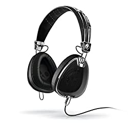 Skullcandy Aviator S6AVFM-156 Over-Ear Headphone (Black)