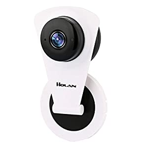 Ip Camera, Holan H.264 1280 x 720p Home Surveillance Camera, WIFI Wireless IP Camera with Night Vision+ Motion Detection+ Two-Way Audio for Android and IOS System