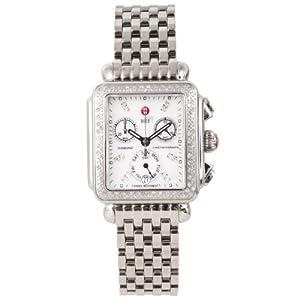 Michele Womens Deco Day Diamond Chronograph Watch MW06P01A1046